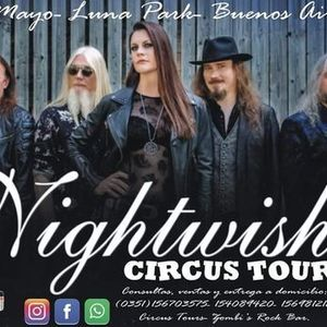 Nightwish desde Crdoba con Circus TOURS