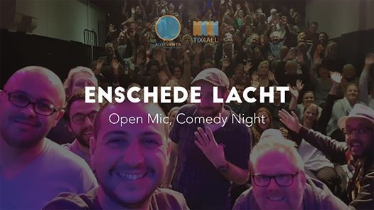 17 10 Enschede Lacht Open Mic Comedy Night At