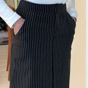 Sew an A-line (denim) skirt