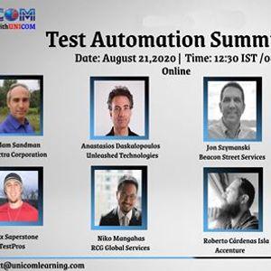 Test Automation Summit 2020