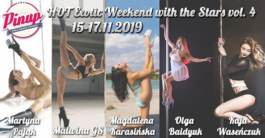 Hot Exotic Weekend with the Stars vol. 4
