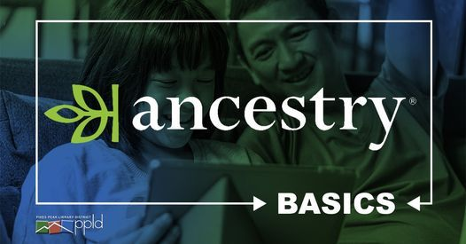 Ancestry Basics, 27 October | Online Event | AllEvents.in
