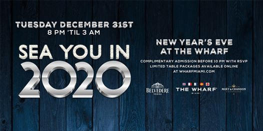 Miami New Years Eve 2020 Events.Sailing Into 2020 New Years Eve At The Wharf Miami Miami