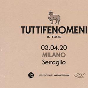 Tutti Fenomeni live a Milano  Serraglio