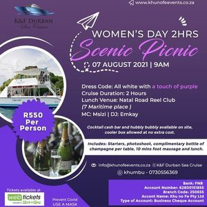 Womens day 2 hours scenic picnic cruise