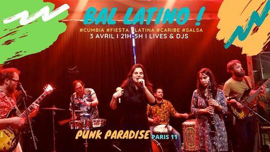 Bal Latino  Paris  Cumbia Salsa Caribe & Afro-Latino