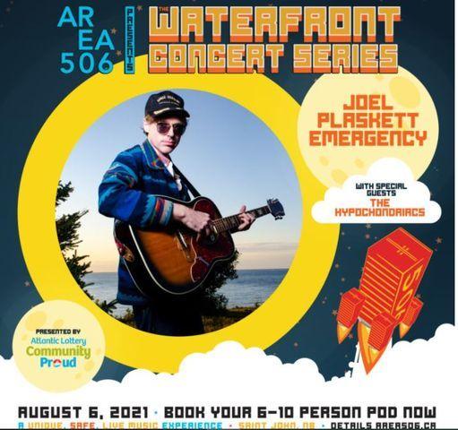 Area 506 Waterfront Concert Series with Joel Plaskett Emergency, 6 August   Event in Saint John   AllEvents.in