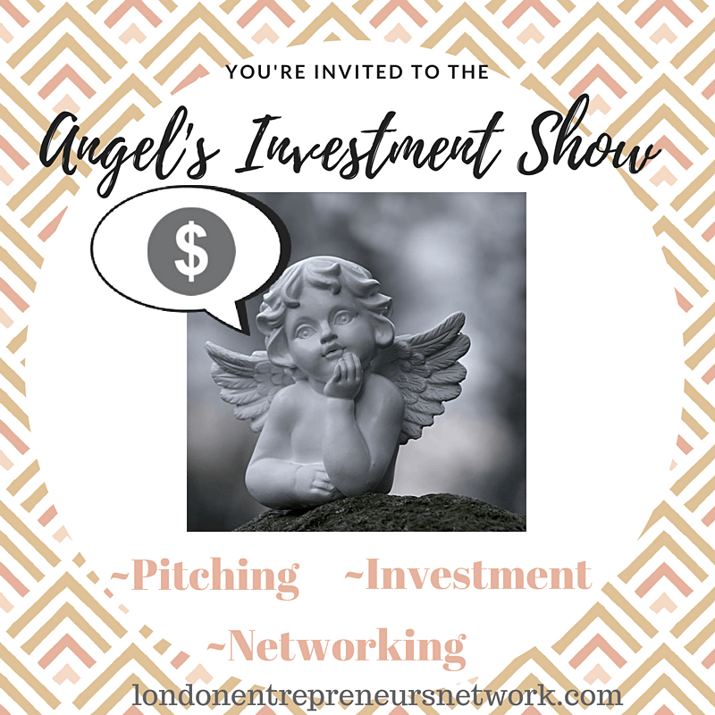 Angels Investment Show 14, Watch, Pitch or Network, 26 January | Event in London | AllEvents.in