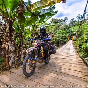 Motorcycle Adventure Tour Cloudforest Coast & Craters