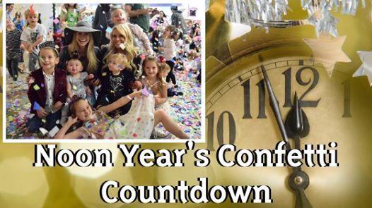 Annual Noon-Years Confetti Countdown