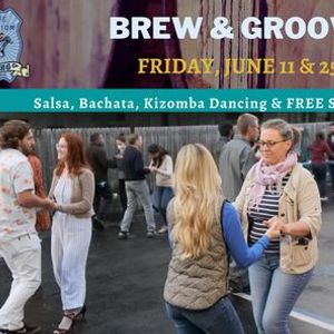 Brew & Groove Salsa Night on the Patio