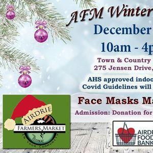 Airdrie Market December Last minute shop