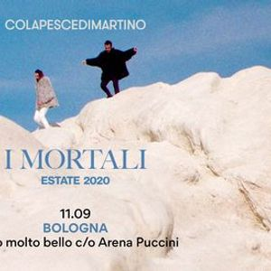 ColapesceDimartino - I Mortali Estate 2020 - Bologna