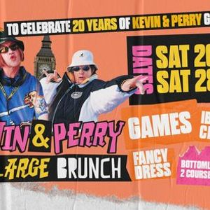 Kevin & Perry Go Large Brunch 20 year anniversary