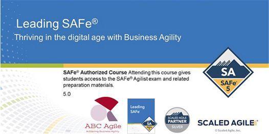 Leading SAFe 5.0 with SA Certification Northampton by Daniel  Dina