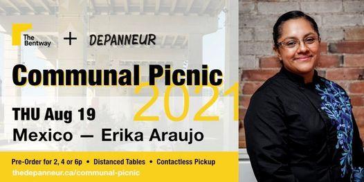 COMMUNAL PICNIC: Mexico   Erika Araujo, 19 August   Event in Toronto   AllEvents.in