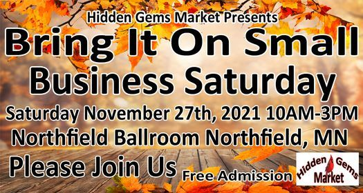 2nd ANNUAL Bring It On Small Business SATURDAY, 27 November   Event in Northfield   AllEvents.in