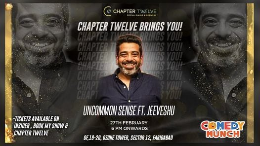 Uncommon Sense ft Jeeveshu Ahluwalia | Event in New Delhi | AllEvents.in