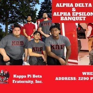 Alpha Delta & Alpha Epsilon Banquet