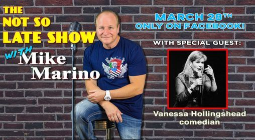 The Not So Late Show with Mike Marino, 28 March | Online Event | AllEvents.in