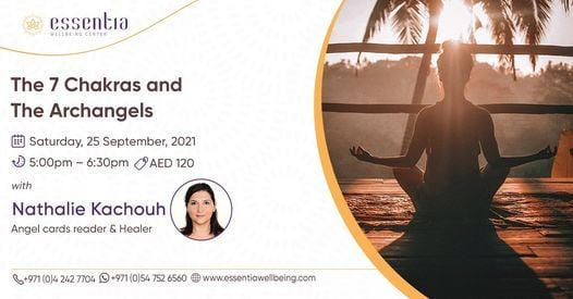 The 7 Chakras and The Archangels with Nathalie Kachouh, 25 September   Event in Dubai   AllEvents.in