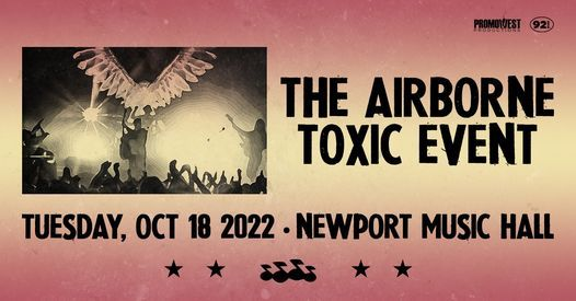 The Airborne Toxic Event - Presented by CD92.9 - Rescheduled, 18 October | Event in Columbus | AllEvents.in