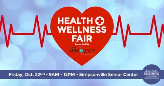 Seniors (ages 50+) Health & Wellness Fair presented by Davis Audiology   Event in Simpsonville   AllEvents.in