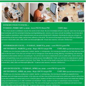 Advanced Excel Class