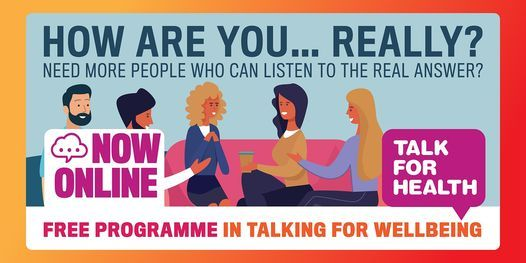 Online Talk for Health Taster: Learn to Talk for a Fit Mind, 17 March | Online Event | AllEvents.in