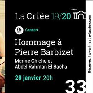 33  Hommage  Pierre Barbizet