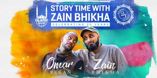Leicester Story Time with Zain Bhikha  Celebrating 25 Years
