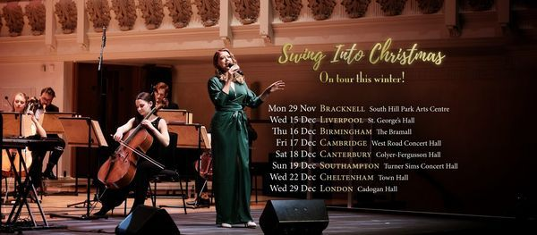 Swing Into Christmas 2021 ~ The Down for the Count Concert Orchestra at St George's Hall, 15 December   AllEvents.in