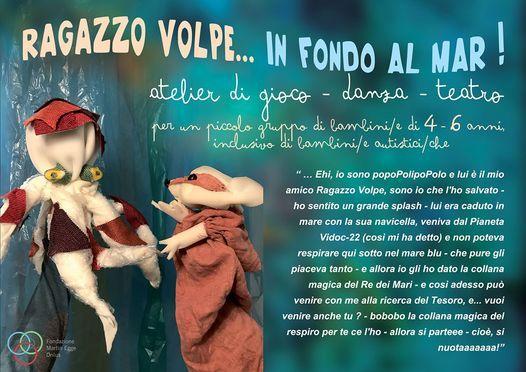 Ragazzo Volpe in fondo al mar | Event in Venice | AllEvents.in