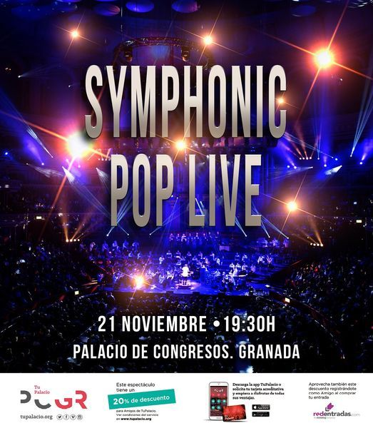Symphonic Pop Live, 21 November | Event in Granada | AllEvents.in