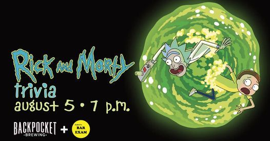 Rick and Morty Trivia, 5 August   Event in Coralville   AllEvents.in