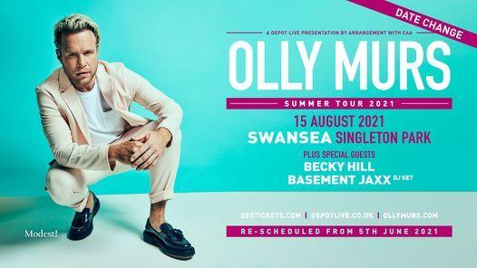 Olly Murs - Swansea, 15 August | Event in Swansea | AllEvents.in