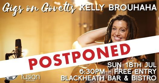 Gigs on Govetts - Kelly Brouhaha (SA) at BB&B, 18 July | Event in Blackheath | AllEvents.in