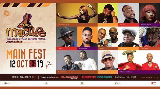 Macufe Main Festival 2019