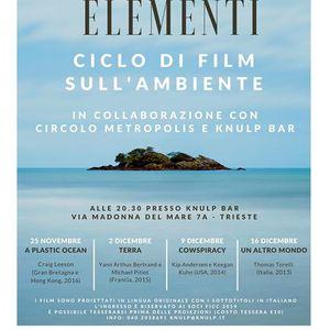 I quattro Elementi ciclo di film sullambiente