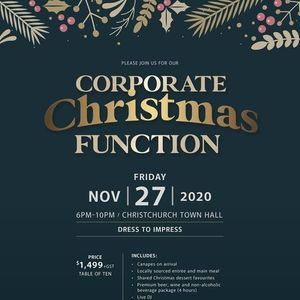 Corporate Christmas Function