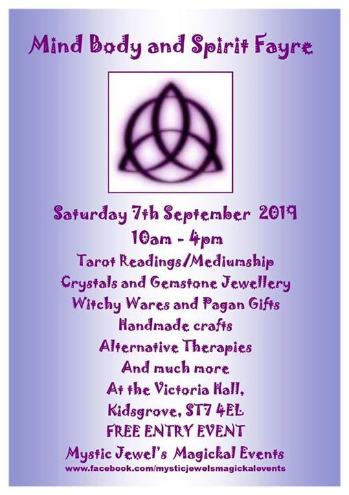 Pagan events in Stoke On Trent, Today and Upcoming pagan
