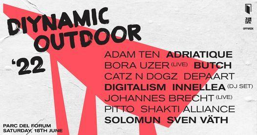 Diynamic Outdoor - OffWeek Festival 2022- Barcelona, 18 June   Event in Barcelona   AllEvents.in