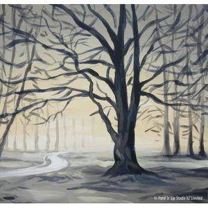 Hagley Park in Winter