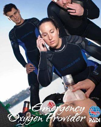 ONLINE PADI Emergency Oxygen Provider Speciality CourseRefresherTaster