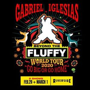 Gabriel Iglesias NIGHT ONE SOLD OUT at the Riverside Theater