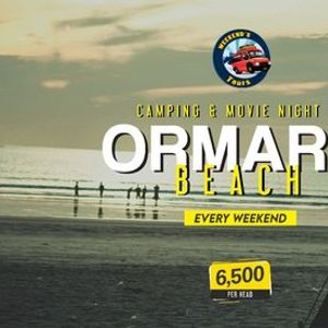 Ormara Beach - Night Camping - Bonfire & Movie Scene