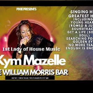 1st Lady of house music Kym Mazelle at The William Morris Bar