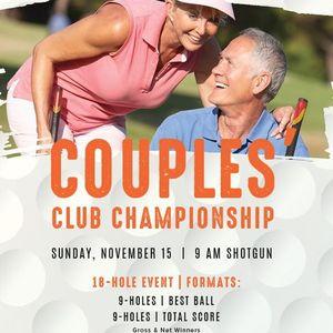 Couples Club Championship