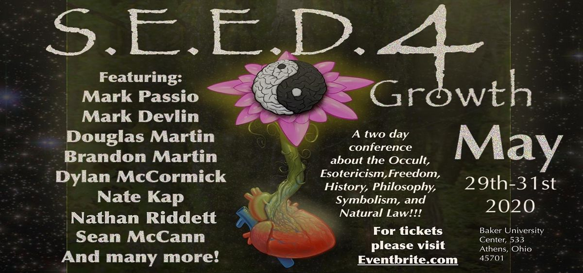 S.E.E.D. 4 Conference, 14 May | Event in Athens | AllEvents.in