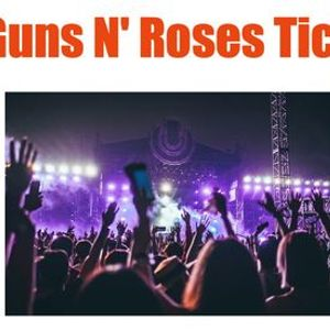 Guns N Roses Tickets Chicago IL Wrigley Field 721